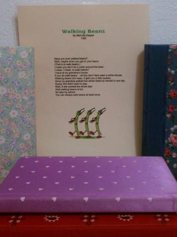 c Poem Books & Walking Beans Poem