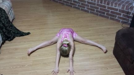 Shelby has always been super flexible!