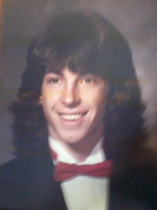 Character Joel real life Gary Freeland high school graduation 1989