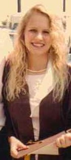 Character Rebekah real life Melinda Kasper h.s. graduation 1989a
