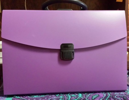 Purple Pendaflex for Writinga
