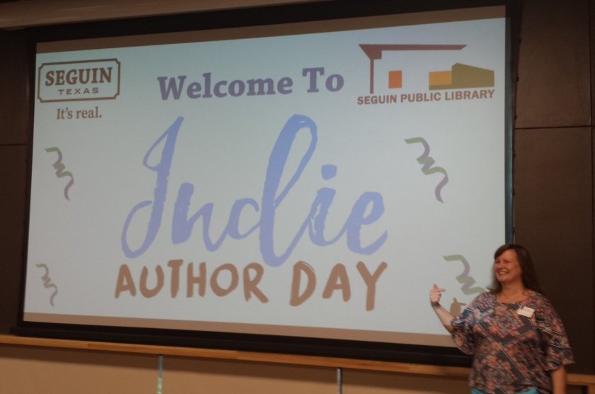 Indie Author Day Seguin Public Library 10.13.18